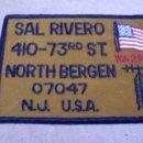 Postales: TARJETA RADIOAFICIONADO BORDADA EN TELA AÑOS 80 U.S.A. FOTO ADIC. Lote 58099386
