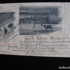 Postales: CORRIDA DE TOROS. HAUSER Y MENET. 1899.. Lote 61403795