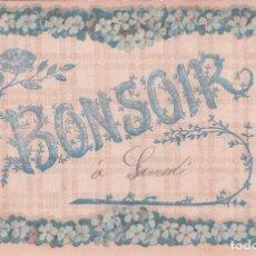 Postales: POSTAL FRANCESA DE BUENAS NOCHES. BONSOIR. CIRCULADA. V.P.F.. Lote 61680688