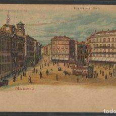 Postales: MADRID - MIRESE AL TRANSPARENTE -MIRANDO A TRASLUZ SE VE DE NOCHE - REVERSO SIN DIVIDIR -(44.748). Lote 62391532