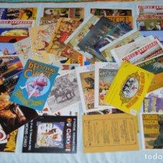 Postales: LOTE ENORME DE MÁS DE 80 POSTALES - TEMÁTICA CIRCO - MUY BUEN ESTADO - SIN CIRCULAR - MUY VARIADAS . Lote 63097612