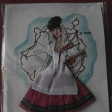 Postales: TARJETA POSTAL BORDADA LAS PALMAS. Lote 63165195