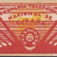 Postales: PS4675 COMPAÑÍA TELEFÓNICA NACIONAL DE ESPAÑA - BLOC DE 10 POSTALES - HAUSER Y MENET. Lote 43892260