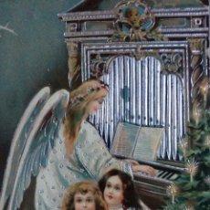 Postales: POSTAL EN RELIEVE CIRCULADA SELLO ALFONSO XIII. MATASELLADA EN 1911. Lote 65902342