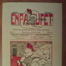 Postales: TARRJETA POSTAL : EN PATUFET , FACSIMIL PORTADA Nº 1. Lote 194600030
