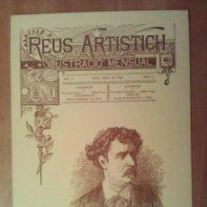 Postales: POSTAL NAVIDEÑA . PORTADA REUS ARTISTICH / FORTUNY. Lote 195503846