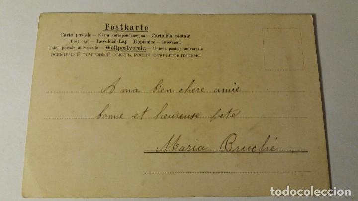 Postales: ANTIGUA POSTAL ESPECIAL DIBUJADA Y COLOREADA A MANO ORIGINAL AÑOS P.P.SXX 1910/20 - Foto 2 - 67177125