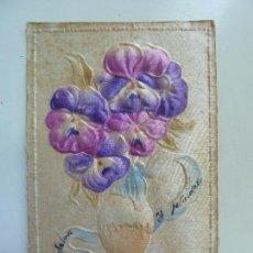 Postales: POSTAL ANTIGUA EN RELIEVE. AÑO 1909. . Lote 69293661
