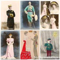 Postales: LOTE DE POSTALES DE ALFONSO XIII Y SU FAMILIA -AÑOS 20. Lote 69875581