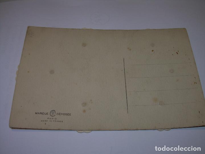 Postales: ANTIGUA Y RARA POSTAL CON SEIS DISCOS GIRATORIOS. - Foto 4 - 72744575