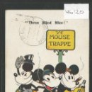 Postales: MICKEY MOUSE -POSTAL ORIGINAL AÑOS 20 -VER REVERSO- (46.120). Lote 73927419