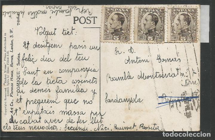 Postales: MICKEY MOUSE -POSTAL ORIGINAL AÑOS 20 -VER REVERSO- (46.120) - Foto 2 - 73927419
