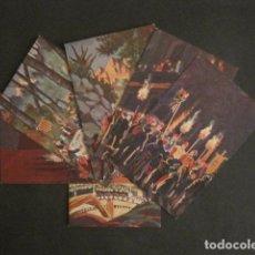 Postales: CARAMELLAS - CARAMELLES -COLECCION 6 POSTALES ANTIGUAS- IBAÑEZ -COLL SALIETI-VER FOTOS-(46.418). Lote 74407747