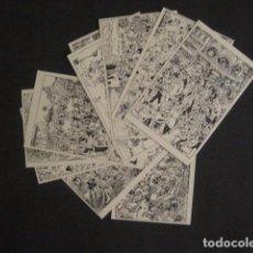 Postales: OPISSO -BARCELONA - AÑOS 30 -COLECCION 10 POSTALES ANTIGUAS-CARICATURAS ... -VER FOTOS-(46.420). Lote 74408423