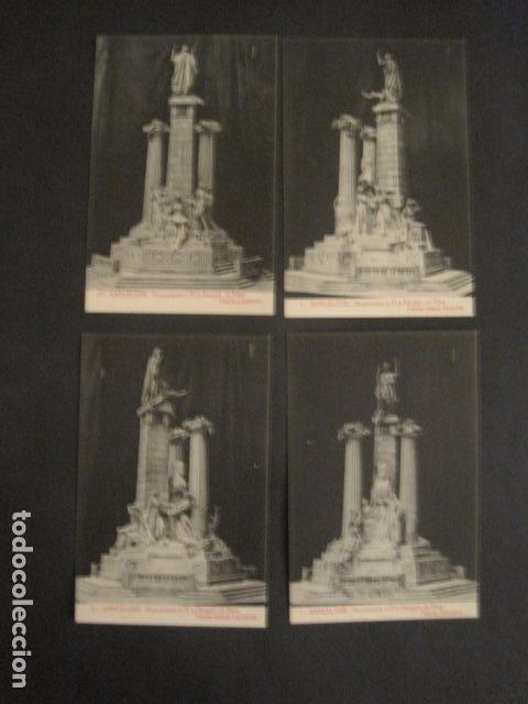 Postales: BARCELONA -MONUMENTO PI Y MARGALL-COLECCION 10 POSTALES ANTIGUAS- CON SOBRE FUNDA-VER FOTOS-(46.419) - Foto 4 - 74409239