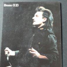 Postales: BONO U2. Lote 74606137