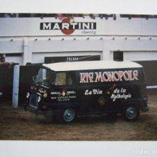 Postales: FOTOGRAFIA 10X15 - PLAZA DE TOROS DE TANGER - PUBLICIDAD MARTINI - BODEGAS MORENITO - AÑOS 70. Lote 79042549