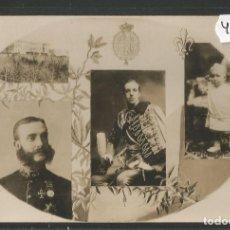 Postales: POSTAL MONARQUIA ALFONSO XIII -VER REVERSO -(46.945). Lote 80017273