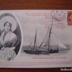 Postales: POSTAL EN ESPERANTO DIRIGIDA A JOAN AMADES ( FUNDADOR FEDERACION ESPERANTISTA CATALANA ) 1910 . Lote 81178136