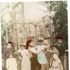 Postales: PS7520 POSTAL FOTOGRÁFICA CONMEMORATIVA DE LA SARDANA. CATALUÑA. 1909. Lote 82297096
