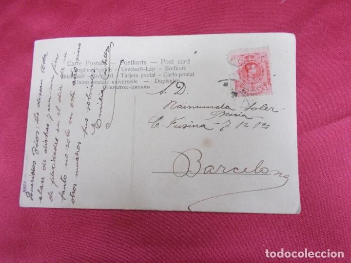 Postales: PRECIOSA E ANTIGUA POSTAL. TROQUELADA EN RELIEVE. - Foto 2 - 83668124