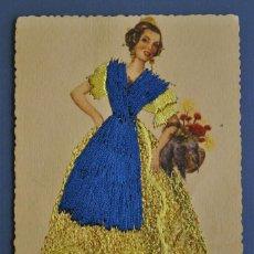 Cartes Postales: TRAJE REGIONAL BORDADO VALENCIA NC. Lote 88144920