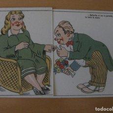 Postales: POSTAL CON SORPRESA CHISTE, VER FOTOS ADICIONALES. Lote 88999964