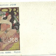 Postales: (PS-52313)POSTAL DE LA COLECCION JOB-AFFICHE 1898-ILUSTRADA POR MUCHA. Lote 89622136