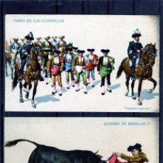 Postales: VEINTE POSTALES ESCENAS DE TOROS-EDICIÓN K.F.EDITORES-PARIS-SERIE488-VER FOTOS ADICIONALES DEL LOTE.. Lote 91882090