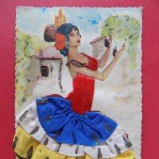 Postales: BONITA POSTAL BORDADA ... R-6689. Lote 93761270