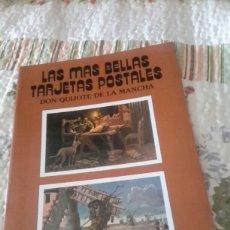Postales: LAS MAS BELLAS ESTAMPAS POSTALES DE DON QUIJOTE DE LA MANCHA. Lote 95352448