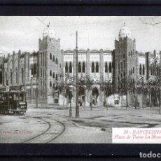 Postales: POSTAL DE BARCELONA=PLAZA DE TOROS LA MONUMENTAL=NUEVA SIN CRCULAR .. Lote 95591935
