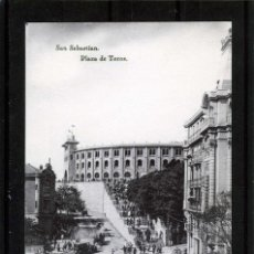 Postales: POSTAL DE SAN SEBASTIAN=PLAZA DE TOROS=EDICIÓN HAUSER Y MENET-NUEVA SIN CIRCULAR .. Lote 95592835