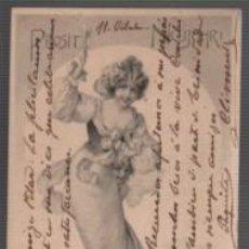 Postales: POSTAL MODERNISTA - 1911 - DIRIGIDA MANRESA PILAR MITET - FAMILIA MESTRE MIRET. Lote 95834803