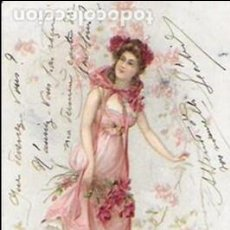 Postales: P- 7637. POSTAL ILUSTRACION AÑO 1913. . Lote 98955215