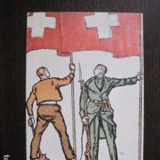 Postales: POSTAL ANTIGUA -ENTERO POSTAL SUIZA - FIESTA NACIONAL - 1917 - VER REVERSO - (50.577). Lote 100539279