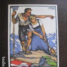 Postales: POSTAL ANTIGUA -ENTERO POSTAL SUIZA - FIESTA NACIONAL - 1913 - VER REVERSO - (50.581). Lote 100539495