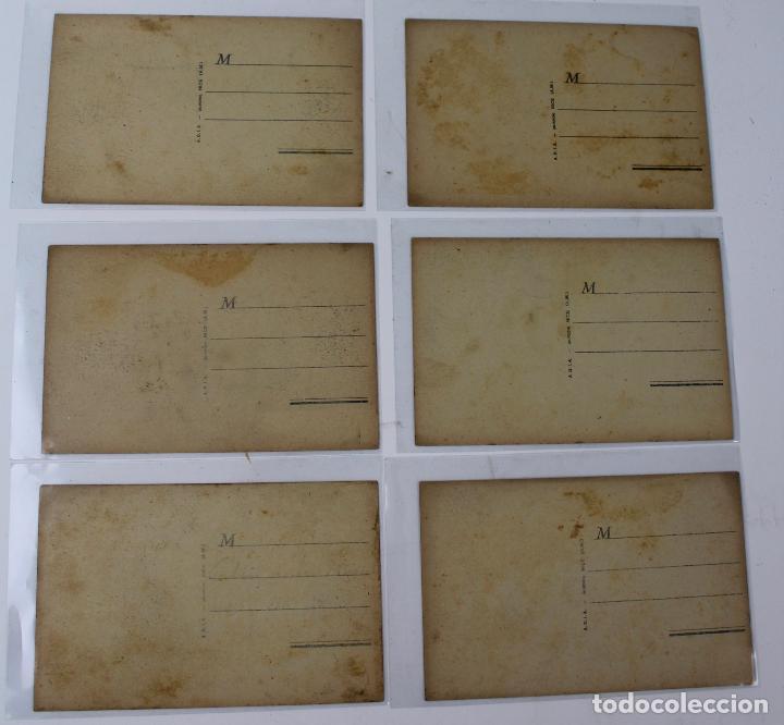 Postales: P- 7721. LOTE DE 6 POSTALES CARNAVAL DE NICE. A.D.I.A. - Foto 4 - 101256011