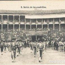 Postales: POSTAL SALIDA DE LAS CUADRILLAS.. Lote 101731555