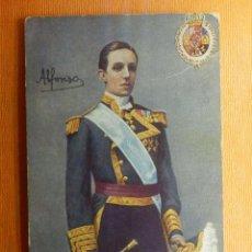 Postales: ALFONSO XIII - RAPHAEL TUCK AND SONS - ESCRITA - ESCRITA EN EL AÑO 1909 - . Lote 102118331