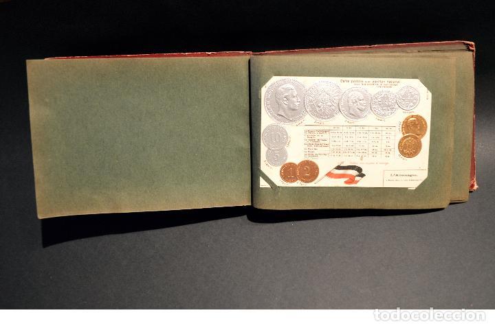 Postales: MONEDAS DE TODOS LOS PAISES 1920 COLECCIÓN 44 CARTA POSTAL GOFRADAS CATALOGO NUMISMÁTICO - Foto 2 - 103162071