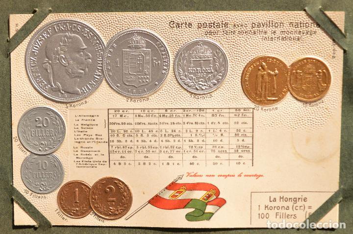 Postales: MONEDAS DE TODOS LOS PAISES 1920 COLECCIÓN 44 CARTA POSTAL GOFRADAS CATALOGO NUMISMÁTICO - Foto 4 - 103162071