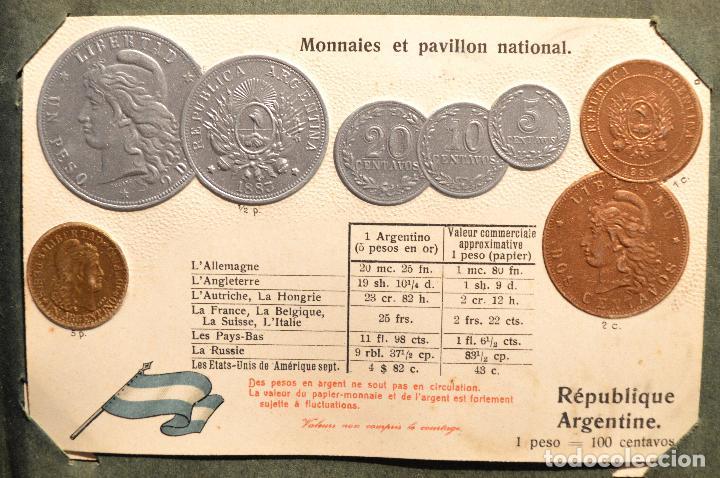 Postales: MONEDAS DE TODOS LOS PAISES 1920 COLECCIÓN 44 CARTA POSTAL GOFRADAS CATALOGO NUMISMÁTICO - Foto 5 - 103162071