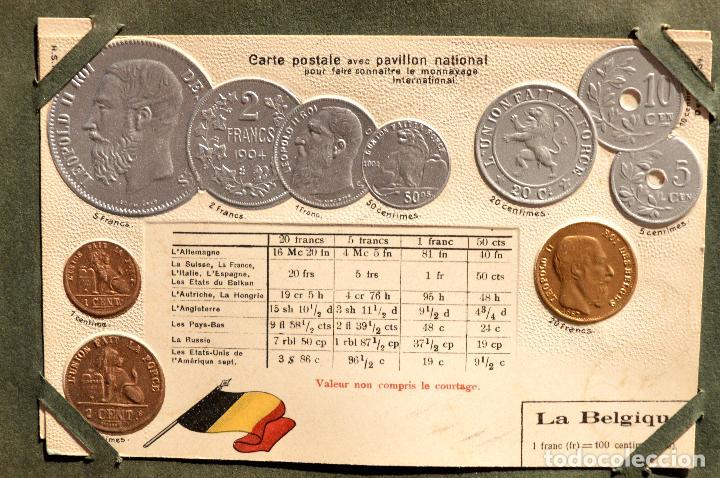 Postales: MONEDAS DE TODOS LOS PAISES 1920 COLECCIÓN 44 CARTA POSTAL GOFRADAS CATALOGO NUMISMÁTICO - Foto 6 - 103162071