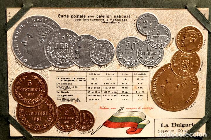 Postales: MONEDAS DE TODOS LOS PAISES 1920 COLECCIÓN 44 CARTA POSTAL GOFRADAS CATALOGO NUMISMÁTICO - Foto 8 - 103162071