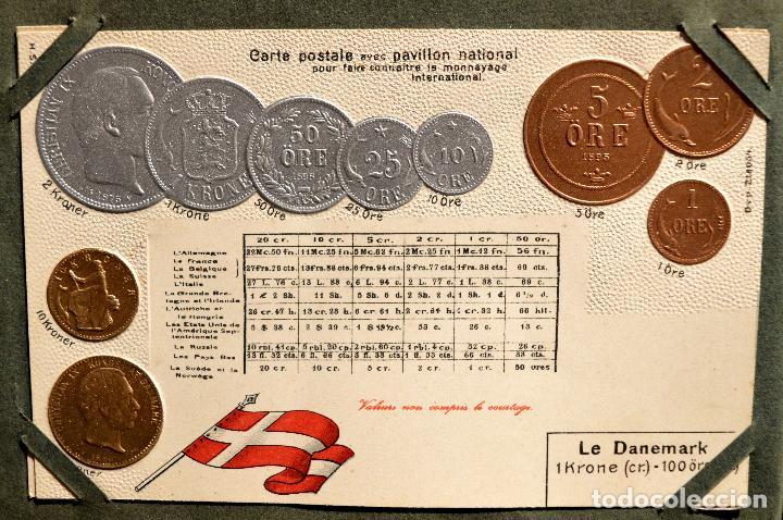 Postales: MONEDAS DE TODOS LOS PAISES 1920 COLECCIÓN 44 CARTA POSTAL GOFRADAS CATALOGO NUMISMÁTICO - Foto 10 - 103162071