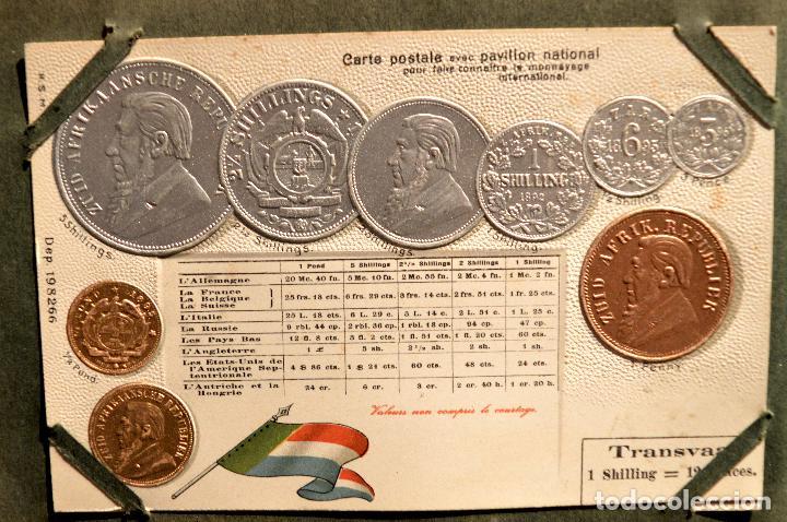 Postales: MONEDAS DE TODOS LOS PAISES 1920 COLECCIÓN 44 CARTA POSTAL GOFRADAS CATALOGO NUMISMÁTICO - Foto 16 - 103162071