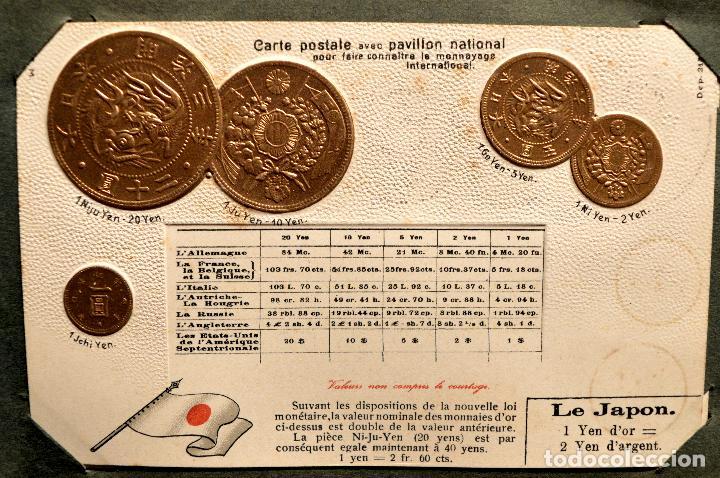 Postales: MONEDAS DE TODOS LOS PAISES 1920 COLECCIÓN 44 CARTA POSTAL GOFRADAS CATALOGO NUMISMÁTICO - Foto 23 - 103162071