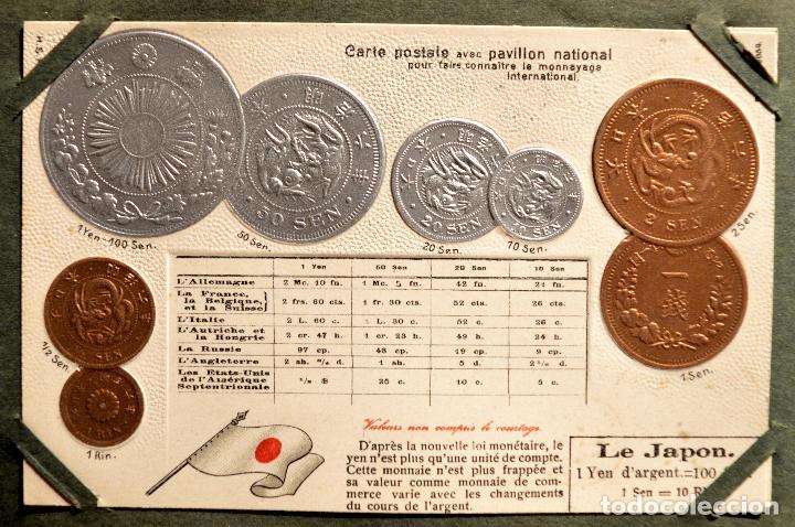 Postales: MONEDAS DE TODOS LOS PAISES 1920 COLECCIÓN 44 CARTA POSTAL GOFRADAS CATALOGO NUMISMÁTICO - Foto 24 - 103162071