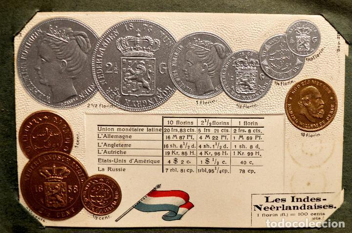 Postales: MONEDAS DE TODOS LOS PAISES 1920 COLECCIÓN 44 CARTA POSTAL GOFRADAS CATALOGO NUMISMÁTICO - Foto 25 - 103162071